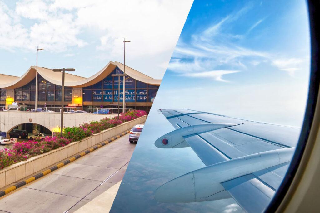 Transfert vers l'aéroport de Djeddah et retour vers Paris CDG