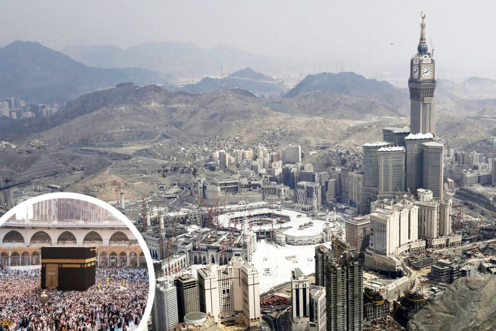 Retour à la Résidence à Azizia et préparation pour le transfert vers l'hôtel proche de la mosquée sacrée…