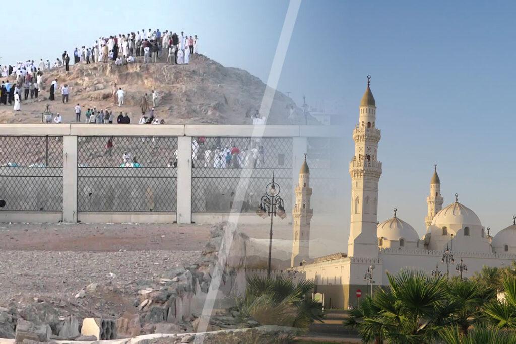 Visite des lieux religieux et historiques de Médine